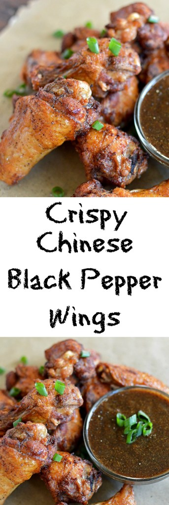 Crispy Chinese Black Peppered Wings..... A spin on the classic Chinese black peppered chicken dish. Say What?!?!?!?!