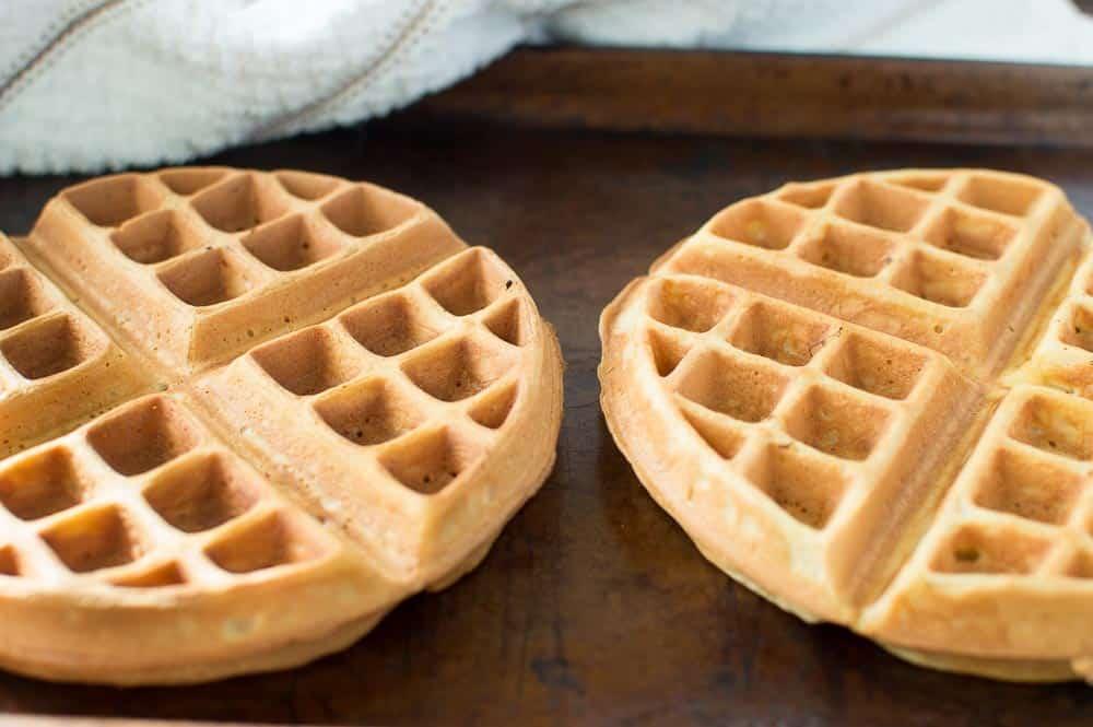 how to freeze waffles