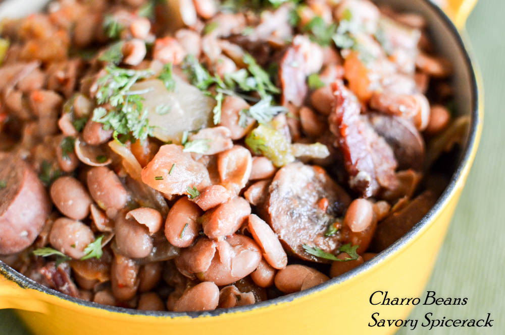 easy slower charro beans