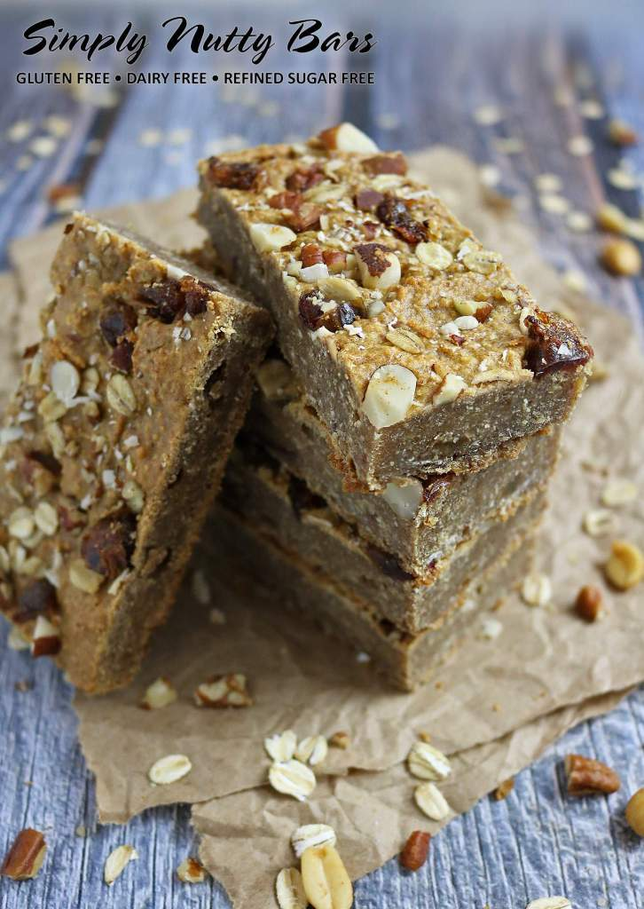 Simply Nutty Breakfast Bars