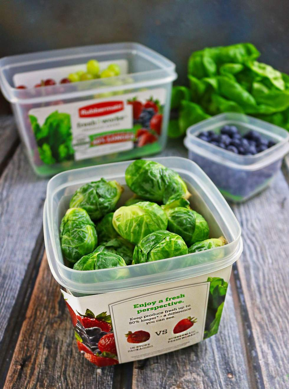 New Rubbermaid Fresh Works Containers