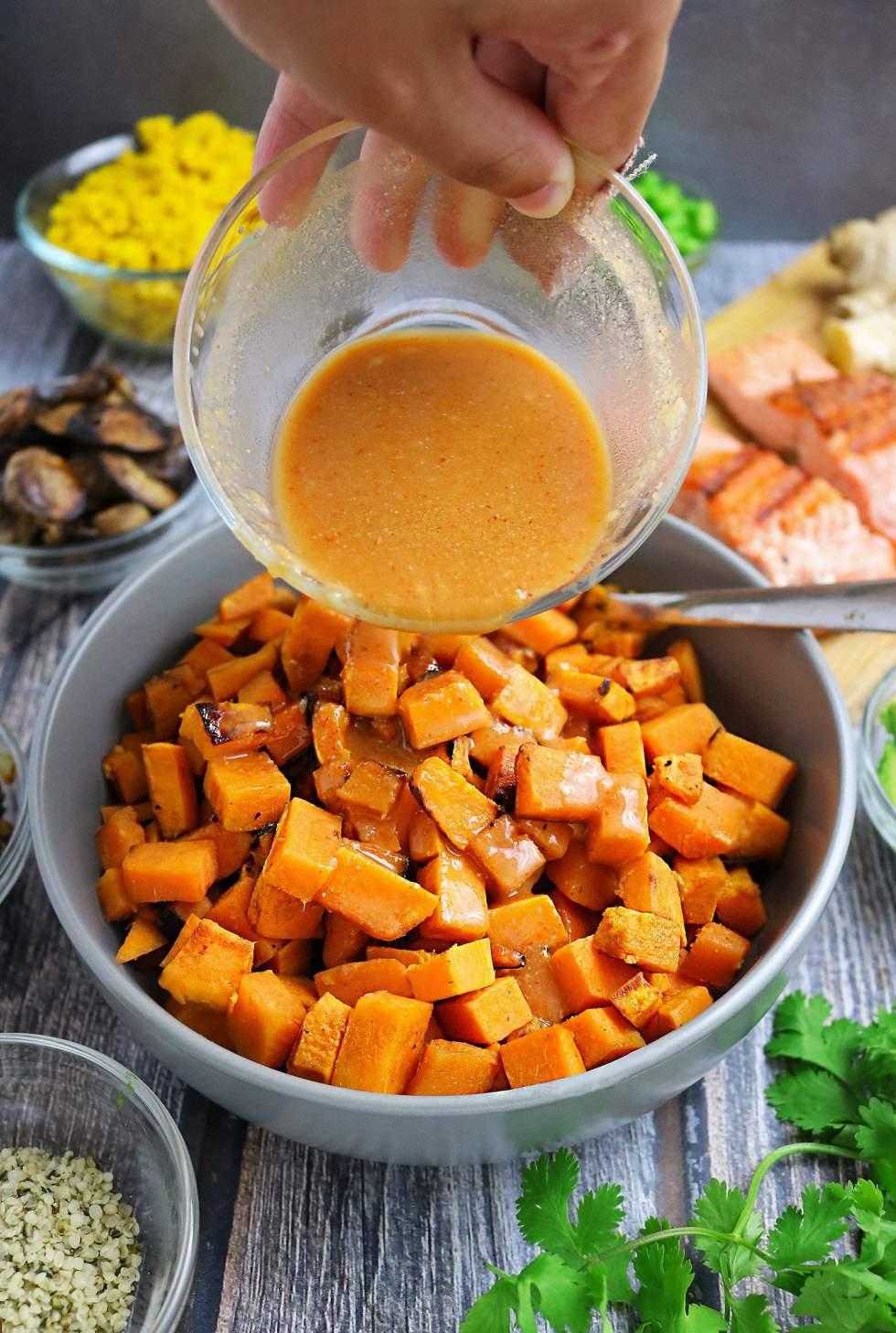 Sweet Spicy Miso Glaze