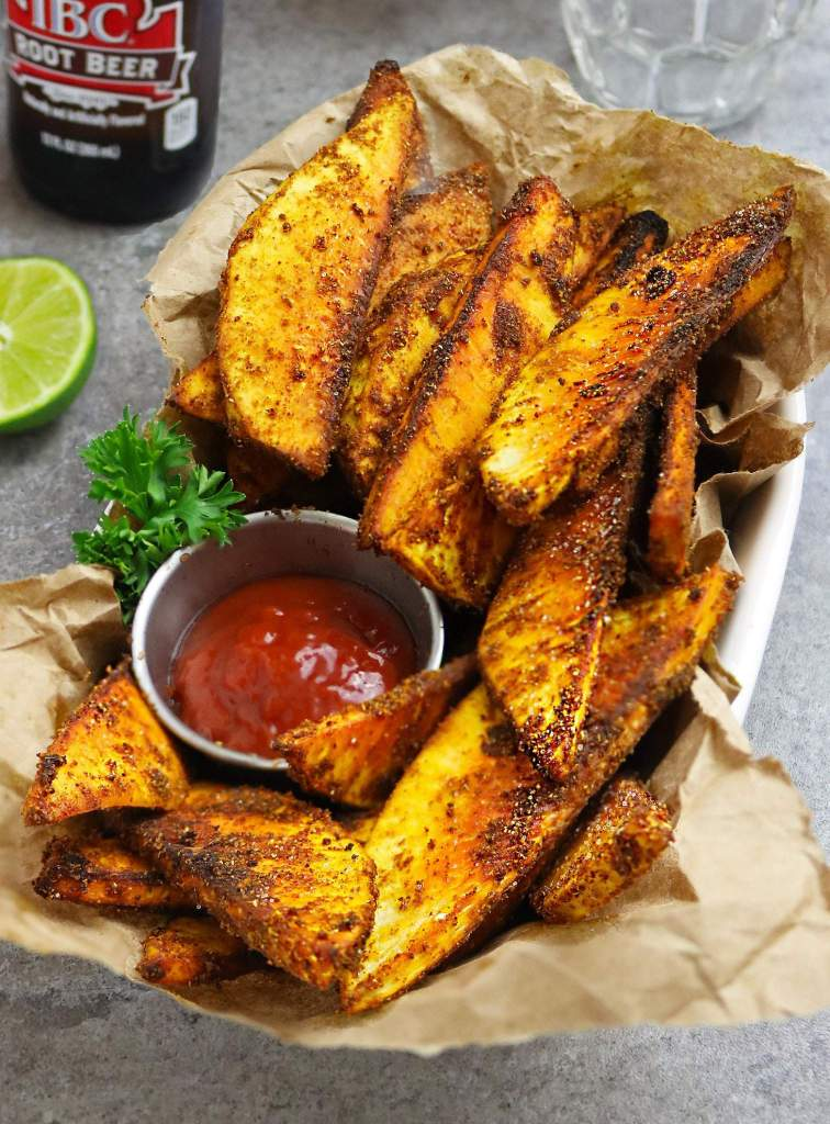 Tasty Breadfruit Fries
