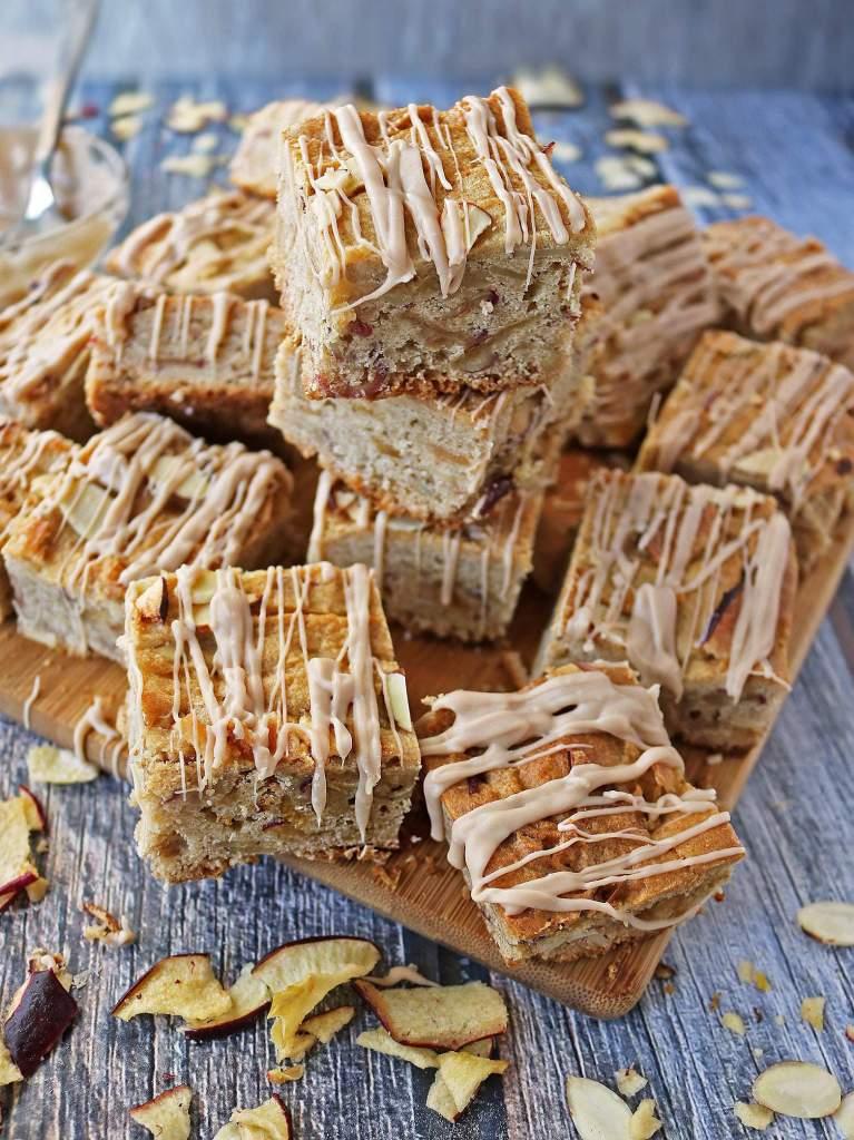 Gluten Free Apple Almond Bars