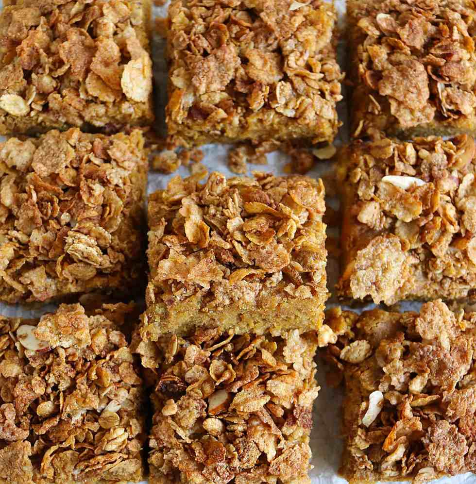 Honey Bunches Of Oats Streusel Topped Bars