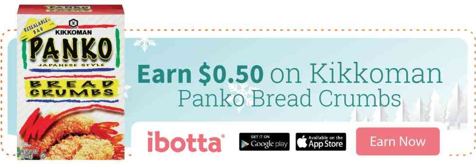 Ibotta Offer on Kikkoman Breadcrumbs