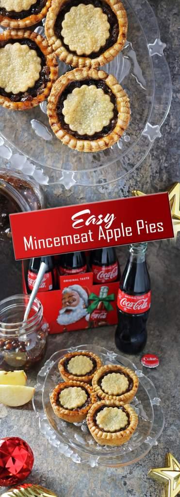 Easy Mincemeat Apple Pies #ShareMagicSpreadJoy