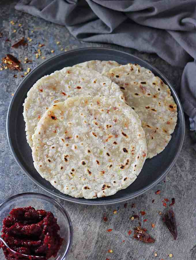 Easy Sri Lankan Coconut Roti
