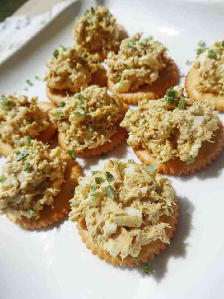 Tuna Curried Egg Salad Recipe