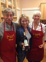 "Art and Cherie Andrews with PBS's ""off the beaten palate"" star Michael Ann Rowe"