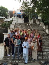 Visiting a Shiva Temple
