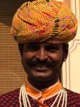 Singer, City Palace, Jaipur photo - Karen Anderson