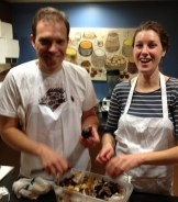 Cameron Smith and Dana Ewart of Joy Road Catering - Guest chefs as Calgary's The Cookbook Co. Cooks photo - Karen Anderson