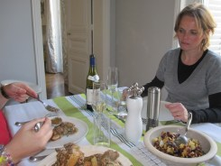 Enjoying lunch together photo - Karen Anderson