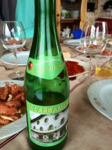 Sidra or hard apple cider is a regional Basque favourite - photo - Karen Anderson