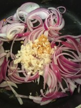 Red onions are used exclusively in South India - photo - Karen Anderson