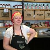 Madeleine Greenway - artist and grocer - photo - Karen Anderson