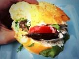 Veggy burger - photo - Karen Anderson