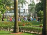 yoga in Kochi - photo - Louise Stirret