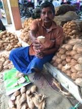 coconut man - photo - Karen Anderson