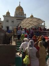 Sikh temple - Delhi - photo - Karen Anderson
