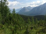 Hiking near Mount Engadine Lodge in Kananaskis, Alberta - photo - Karen Anderson