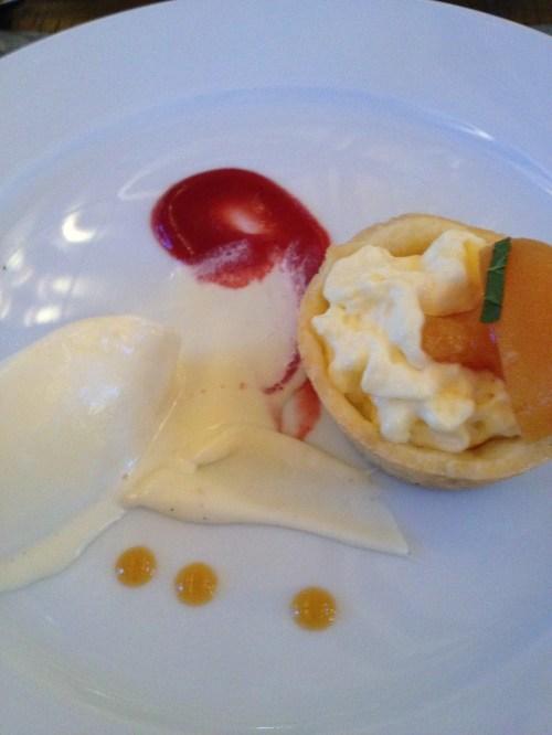 Mark Filatow's dessert, Waterfront Wines, Kelowna, BC