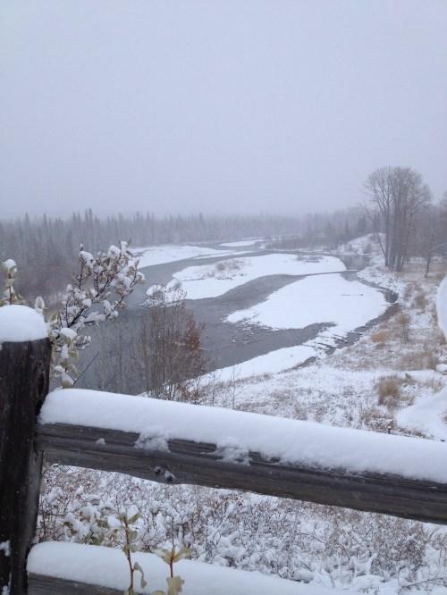 Elbow River - Winter 2012