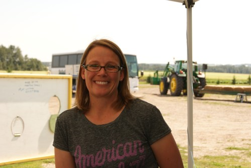 Keri (Edgar) Graham is set to take over her parent's farm and be the next generation to run this century old farm photo - Karen Anderson