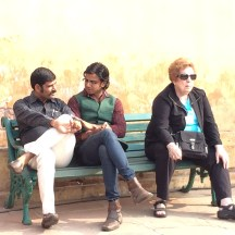 one of these things is not like the others Amir Fort, Jaipur photo - Karen Anderson