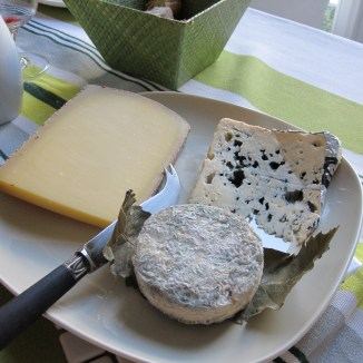 Fresh cheeses photo - Karen Anderson
