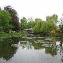 Famous lilies of Monet photo - Karen Anderson