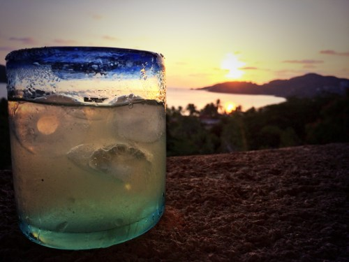 forget Tequila Sunrise...Tequila Sunset is  the way to go photo - Karen Anderson