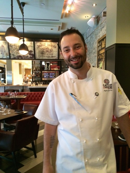 Chef Kyle Groves of Catch and The Oyster Bar at the Hyatt Regency Calgary photo - Karen Anderson