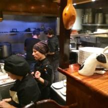 A kitchen full of women at Cuchara de San Telmo - photo - Karen Anderson