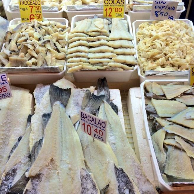 Salt cod - bacalao - photo - Karen Anderson