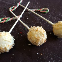 Christmas cake pop treats - photo - Karen Anderson