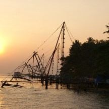 Sunset in Kochin - photo - Karen Anderson