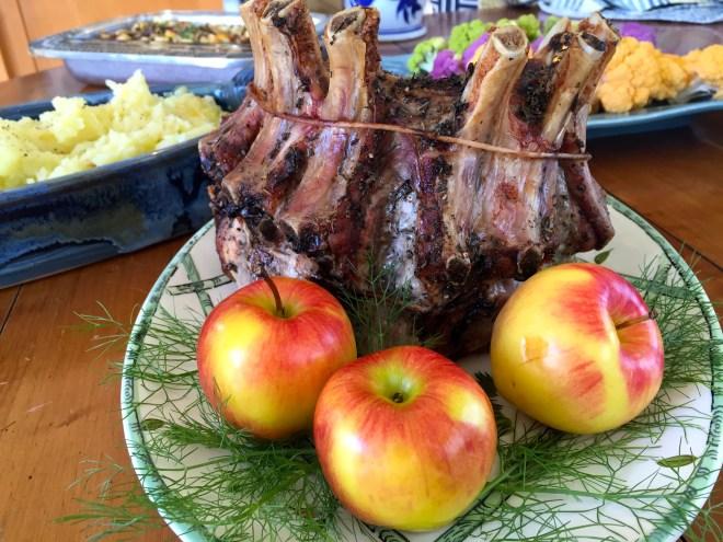 Crown Rib Roast of Pork - photo - Karen Anderson
