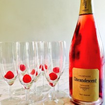 when in doubt - champagne goes with everything - photo - Karen Anderson