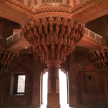Akbar's pulpit - near Agra - photo - Karen Anderson