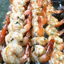 Gaucho's Succulent shrimp - photo - Karen Anderson