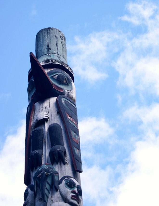 Totem in Alaska