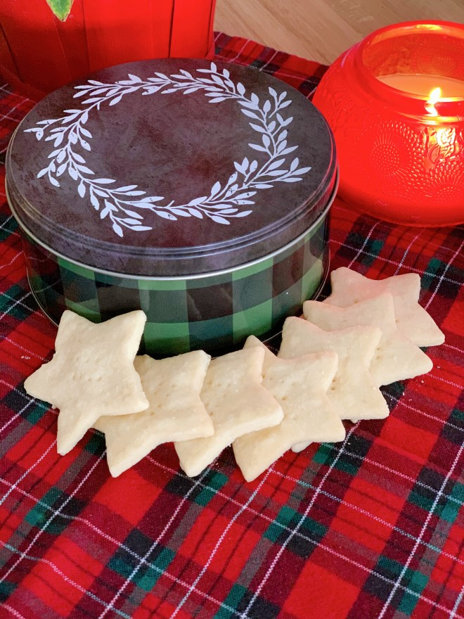 Shortbread Cookies- perspective view