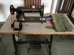 Sewing machine at Sunder Rang - photo credit - Karen Anderson @savouritall