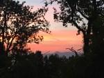 Sunrise at Ananda in the Himalayas - photo credit - Karen Anderson
