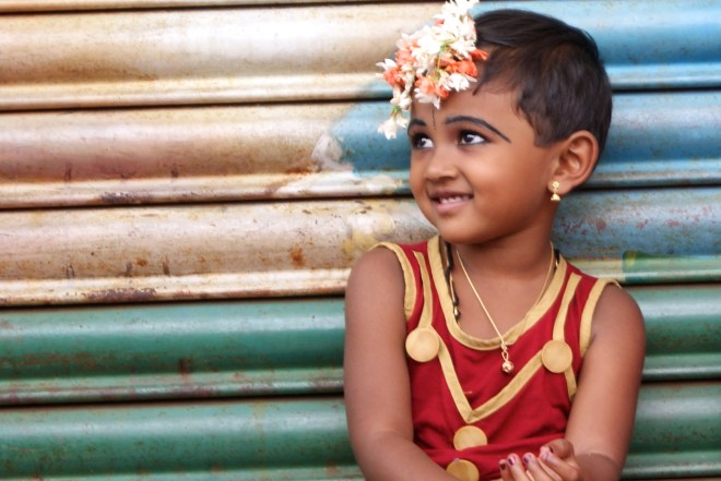 South Indian child - photo credit - Karen Anderson - @savouritall