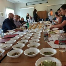 food tasting with alberta culinary chefs - photo credit - Karen Anderson