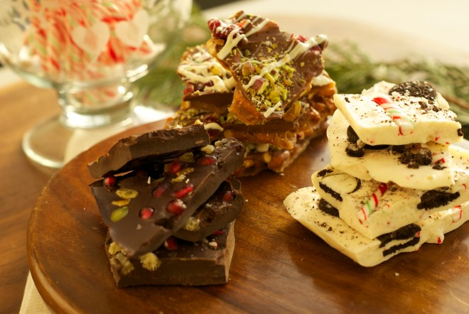 Christmas bark - three easy food gifts to make for the holidays - Karen Anderson - Savour it all blog