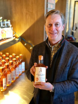 David Farran - owner of Eau Claire Distillery